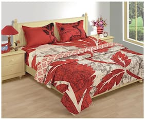 House This 150Gsm Red Double Comforter