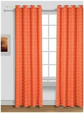 House This 210 Tc Red 1 Xl Curtain