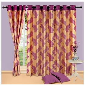 Cortina Candy Purple Window Curtain