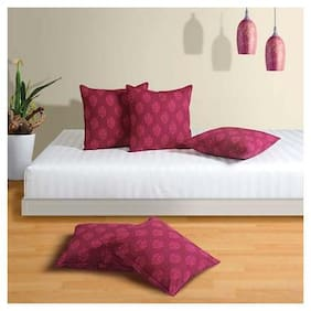 Swayam Drape and Dream  Swayam Printed Cushion Cover Pack of Five