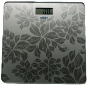 Venus Electronics Digital LCD Personal Health Bathroom Eps-5499 Silver Weighing Scale
