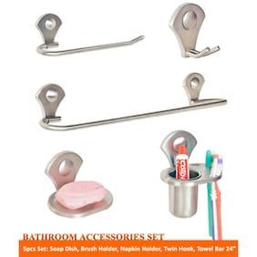 Doyours 5 pcs Bathroom Accessoires Set