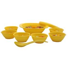 Incrizma 9 Pcs Pudding Set Yellow