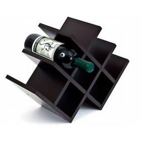 Home Sparkle 8 Bottle Pyramid Wine Rack