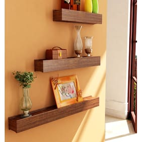 Home Sparkle Set Of 3 Wall Shelves