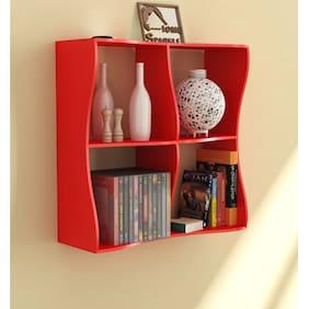 Home Sparkle Wave Book Shelf
