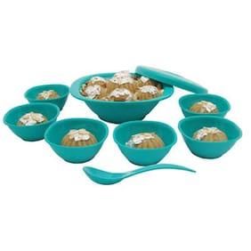 Incrizma 9 Pcs Pudding Set Turquoise Green