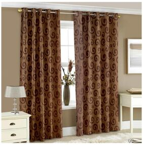 Story@Home 2 pc Window curtain-118 x 152 CM
