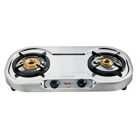 Pigeon Elegance 2 Burner Automatic Regular Black Gas Stove