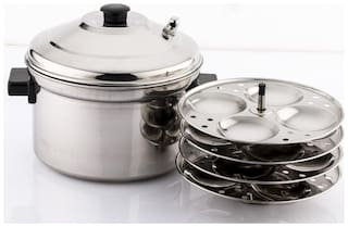 Mahavir Idly Cooker Induction Base - 16 pcs