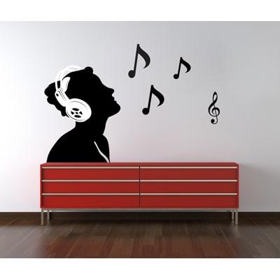 Decor Kafe Musical Men Wall Decal Part 62