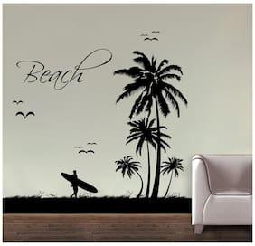 Decor Kafe Beach Wall Decal (DKHS0297S)