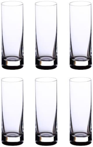 Bohemia Crystal Barline Vodka&Tequila Shots Glass 50 ml Set of 6 pcs,Tranparent,Non Lead Crystal