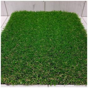 1 pc Natural Looking Artificial Grass Mat (Pack of 1))
