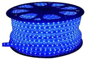 10 M SMD LED Diwali And Home Decoration;Festival De cor Series Rope Light with Adapter - BLUE