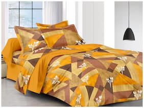 Gifty Cotton Printed Queen Size Bedding Set