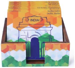 104 Coaster MDF Tri Colour India