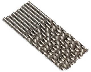 10Pcs 3mm Micro Hss Twist Drilling Auger Bit For Electrical Drill