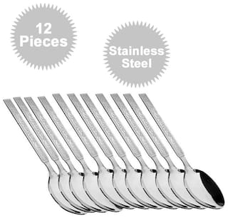12 pc. Tea Spoon Stainless Steel Spoon Set