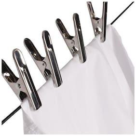12 Pcs - Aluminium Cloth Pegs/Clips