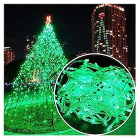 12M 54 LED Colour Green waterproof PVC wire Diwali blister lights wholesale fairy lights decorative starry string lights