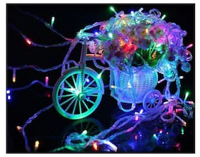 12M 54 LED  Fairy String Lights for Christmas Tree Garden Party and Holiday Decorations