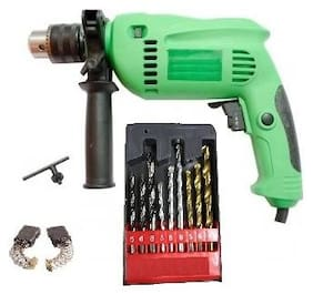 13mm Drill Machine With Drill Bits For Wall;Wood & Iron Sizes 5mm;6mm & 8mm Each