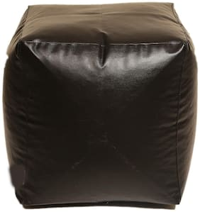 1Key JMD Arts n Designs Square Shaped Pouffe Couch Bean Bag Without Beans (16x16 Inch)