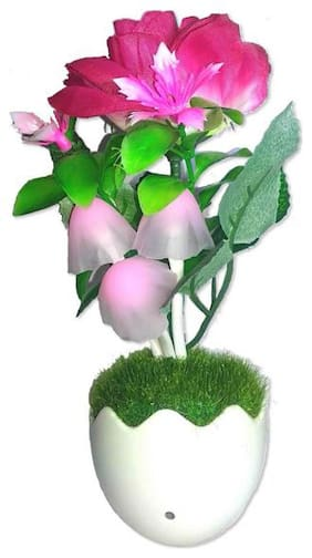 1pc LED Night Lamp Color Change Light Sensor Plug Colorful Garden Mushroom Lamp Baby Light/Home Atmosphere Lights
