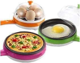 2 In 1 Multifunctional Steaming Device Frying Egg Boiling