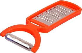 2 IN 1 PEELER AND GRATER VEGETABLE AND FRUITS PEELER Straight Peeler
