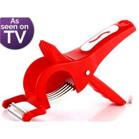 2 in 1 Vegetable Cutter with Peeler Lowest on Bazaar