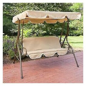 2-Person Canopy Swing Loveseat Outdoor Porch Patio Chair Furniture Garden Swing