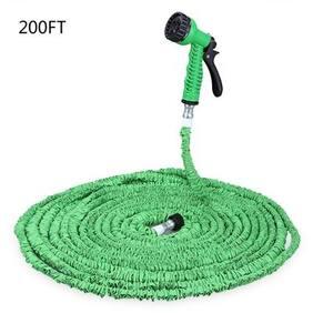 200FT Expandalble Garden Hose Water Pipe with 7 Modes Spray Gun
