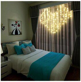 Bedroom Flicker 8Modes Curtain String Light