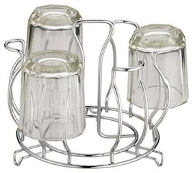 2Mech Stainless Steel Glass Stand Wire /Tumbler Holder/Glass Holder for Kitchen/Dining Table