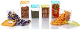 2Mech 800 ml & 600 ml Multi Plastic Container Set - Set of 6