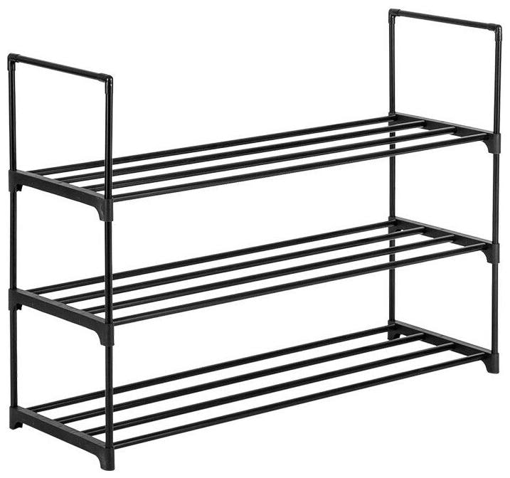 3, 4   5 8 Tier Metal Shoe Rack Storage Organizer Stand Shelf Holder Portable