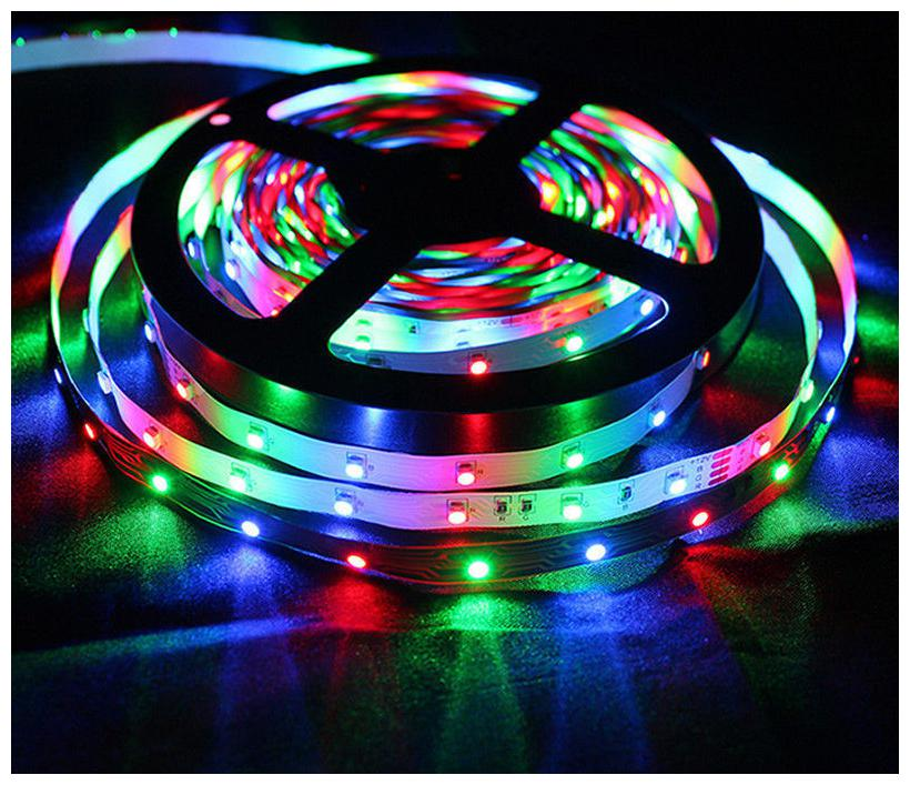 300 LEDs IP65 Flexible colorful LED Strip Lights DC12V With 24 keys Remote Control