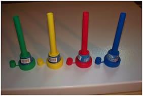 4 Flexible Spout &Cap Funnel Shop Rubber Antifreeze Gas Oil Fuel Can Spill Saver