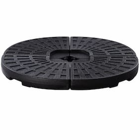 4 Plate Umbrella Base Stand for Patio