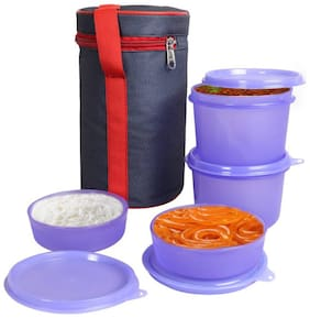 G-King Assorted Lunch box ( Set of 1 , 1200 ml )