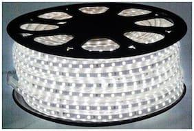 40  Meter   White  Color SMD 5050 AC220V LED Strip Flexible Light 60leds/m Waterproof Led Tape With Dimmer Power Plug