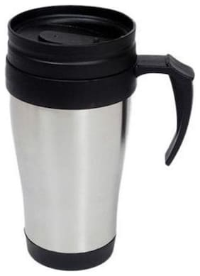 400ml Stainless Steel Travel Mug with Spill Proof Cap (Keeps Contents hot/cold for 4 hrs)