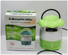 4square Photocatalytic Mosquito Killer Lamp Insect Repelling, Eco-Friendly Fly Inhaler Lamp Insect Killer Light, 6 LEDs Lamp Physical Mosquito Trap Mute Bug Zappers for Family (Colour May Vary)