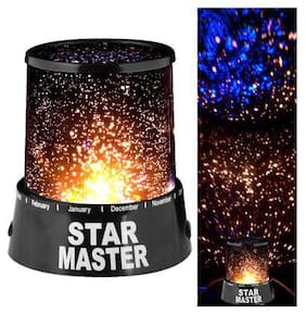 4square Romantic LED Starry Night Sky Projector Lamp Kids Gift Star Master Light Assorted by 4s