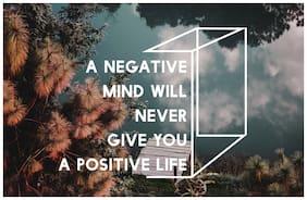 5 Ace a Negative mind Wall Decor Poster