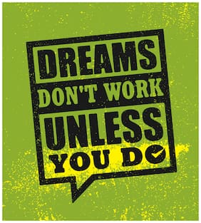 5 Ace Dreams does't work Wall Decor Poster