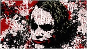 5 Ace Joker Wall Sticker Poster