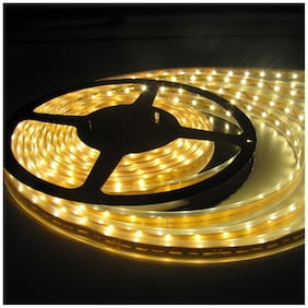 5 m Warm White LED STRIP LIGHT with Adapter